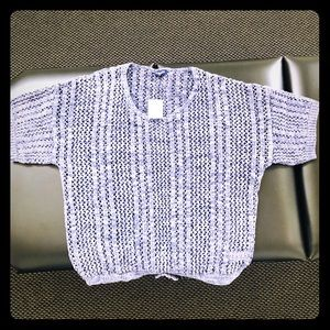Splendid crochet knit top NWT